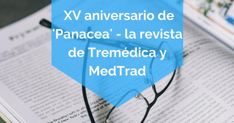 Panacea, la revista de Tremédica y MedTrad