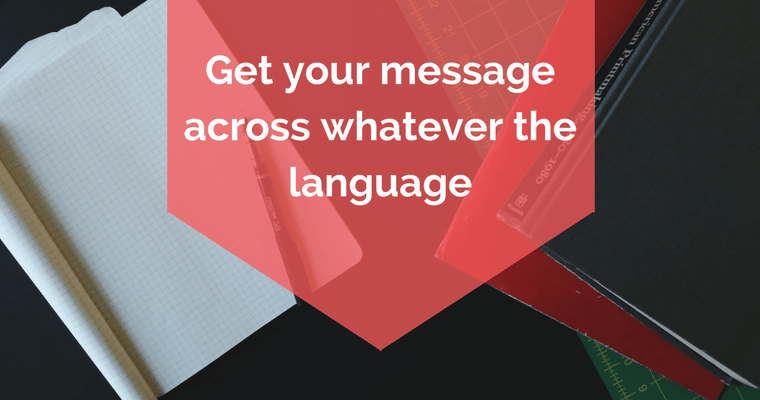 WITH DTP SERVICES – GET YOUR MESSAGE ACROSS WHATEVER THE LANGUAGE