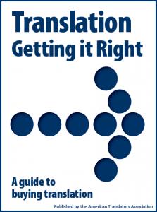 ATA Ebook - Translation - Getting it right