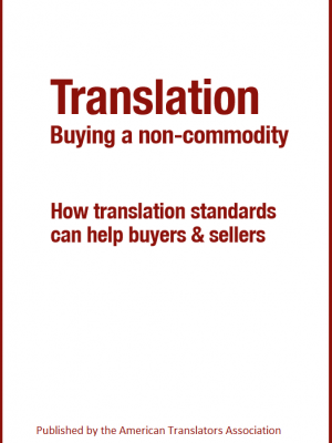 ATA Ebook - Translation - Buying a non-commodity