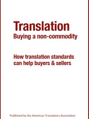 ATA Ebook - Translation - Buying a non-commodity