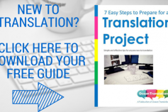 Translation Buyers – How to get started with your first project