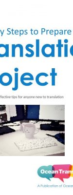 eBook - 7 steps to get started with a translation project