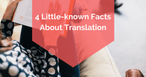 4 Little-known Facts About Translation