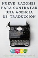 ebook 9 razones contratar agencia de traducción