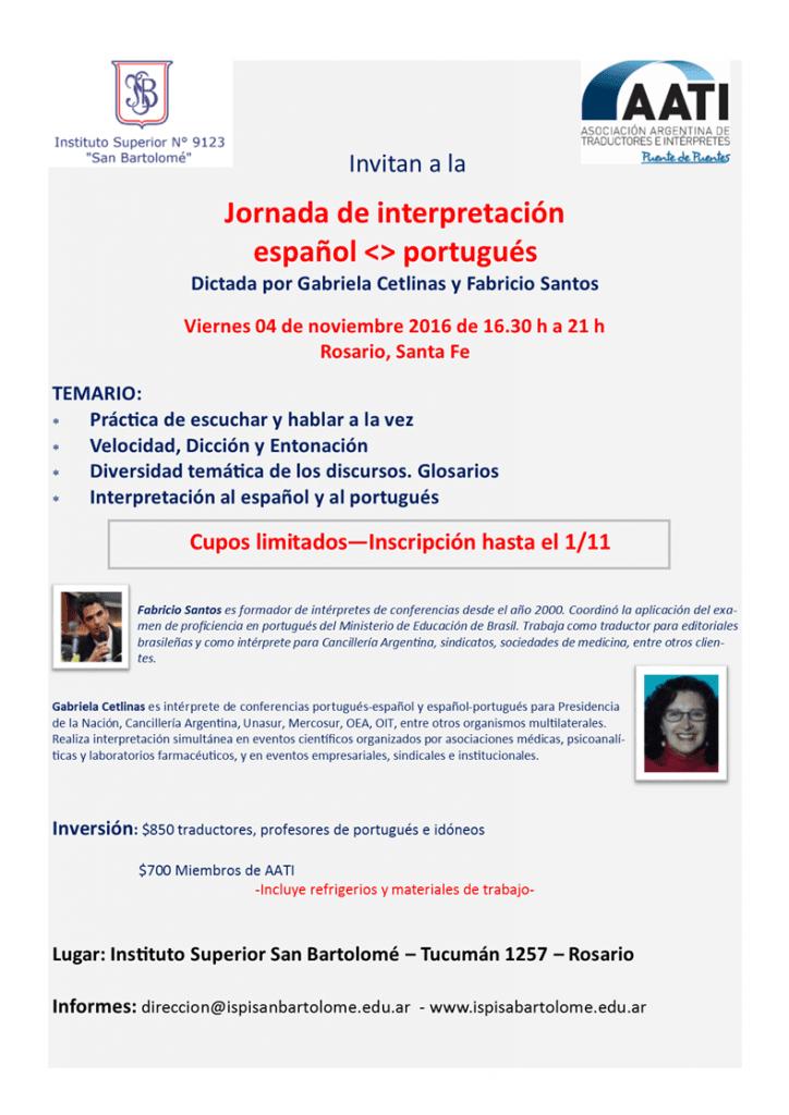 jornada-de-interpretación en Rosario