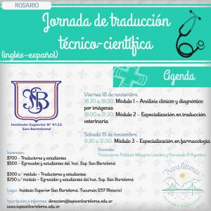 Jornada de traducción técnico-científica