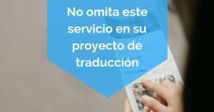 maquetación No omita este servicio en su proyecto de traducción