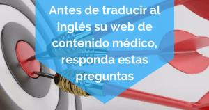 traducir al inglés su web