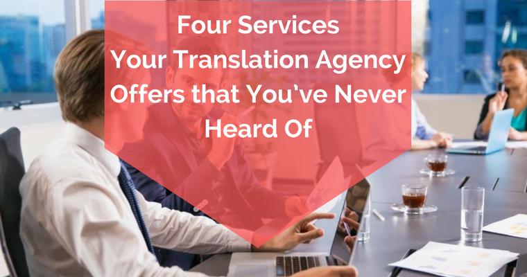 4 linguistic services